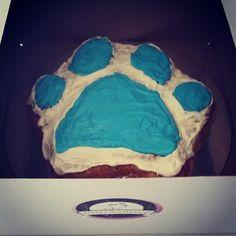 Doggie Birthday Cake www.facebook.com.au/daisysdogbarkery