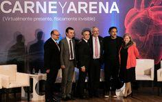 El cineasta mexicano Alejandro González Iñárritu, presentó el día de hoy en la CDMX, la instalación de realidad virtual Carne y Arena... #CarneyArena #GIñárritu #CDMX #Cultura #Cine #México