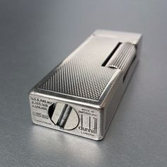 Dunhill lighter Auto-Rollalite big size sterling silver 925 Feuerzeug [SOLD]