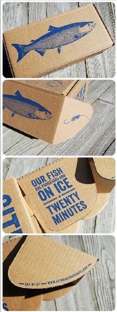 Sitka Salmon Box: Frozen Salmon
