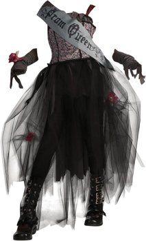 Rubie's Disfraz Miss Gothic (niña)