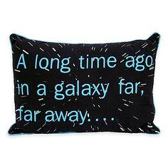 Star Wars™ Classic Sayings Oblong Throw Pillow - BedBathandBeyond.com