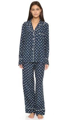 Three J NYC Coco Silk Pajama Set | SHOPBOP