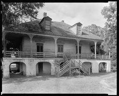 Lacoste Plantation House, St. Bernard Parish, Louisiana, 1938