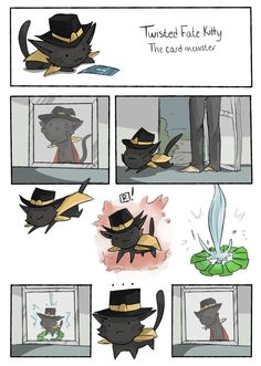Twisted Fate kitty