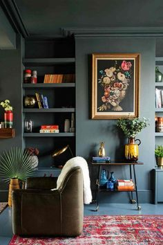 Though I have fresh, bright spring colors on my mind, I want to highlight one of my favorite moody trends before I'm knee deep in all things bright and white. via I'm guilty of following thecrowd and painting most walls in my home white or light gray. There's much to be said for a crisp, […]