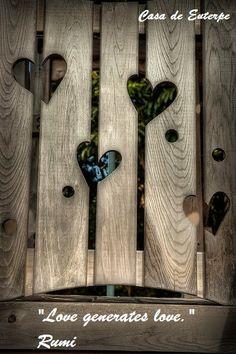Casa de Euterpe: Amor -  Rumi