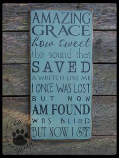 photos of amazing words of wisdom | Amazing Grace Primitive Wood Wall Sign Dog by ... | Words of Wisdom