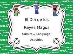 Dia de los Reyes Magos activities, virtual Rosca de Reyes, and interactive nativity