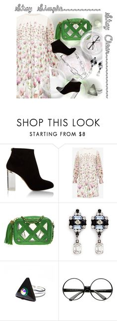 """""""Sta Simple - Stay Clear"""" by no-where-girl ❤ liked on Polyvore featuring Charlotte Olympia, Ted Baker, Chanel, DANNIJO, ZeroUV, clear and Seethru"""