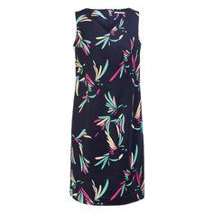Grote maten dames - merk XANDRES X-LINE - Kleed print | Webshop Nr4 High Neck Dress, Outfits, Dresses, Fashion, Shabby Chic, Fashion Styles, Turtleneck Dress, Vestidos, Moda