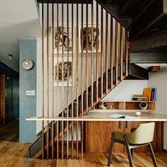 Wunderbar Wenn Sie Das Treppenhaus Gestalten, Müssen Sie Seine Originalität Nicht  Unbedingt Durch Eine Komplizierte Konstruktion Erreichen.Sie Können Auf  Kontraste.