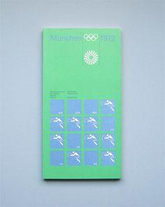 Munich 1972 Olympics Regulations Equestrian - Otl Aicher & Rolf Müller