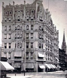BIG OLD HOUSES:  My fav building in NYC before