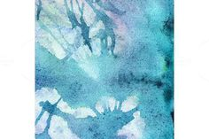 Watercolor turquoise cyan texture. Textures. $5.00