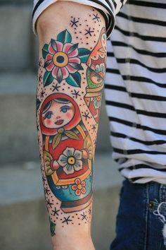 Matryoshka doll..this will be my next tattoo.