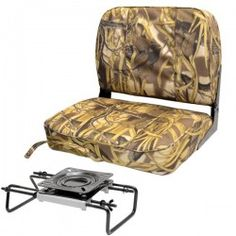 "Custom 21"" wetlands camo #duck or #fishing #boat seat. Just $85."