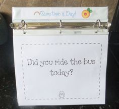 First Grade Blue Skies: Ok...It is here! Question of the Day