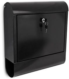 Iron Mailbox Newspaper Holder Black 38 X 41.5 X 12 Cm Outdoor Wall Mounting NEW  http://www.ebay.co.uk/itm/Iron-Mailbox-Newspaper-Holder-Black-38-X-41-5-X-12-Cm-Outdoor-Wall-Mounting-NEW-/252294753717?hash=item3abdf06db5:g:RkkAAOSwPc9WyZbd