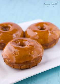 Cookie Butter Doughnuts from @Jennifer ~ Savory Simple