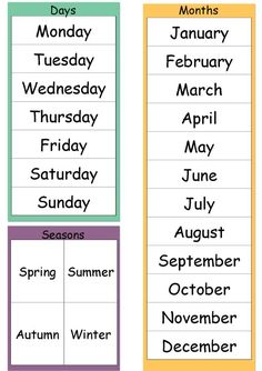 Today Is (Dates, Weather & Seasons) Chart - MindingKids Learning English For Kids, Teaching English Grammar, English Worksheets For Kids, English Lessons For Kids, English Activities, Learn English Words, English Language Learning, English Vocabulary, English Lesson Plans