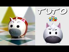 TUTO FIMO | Tsum Tsum Maximus (de Raiponce) - YouTube
