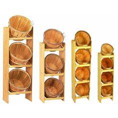 Bushel Baskets as Toy Shelf / Storage