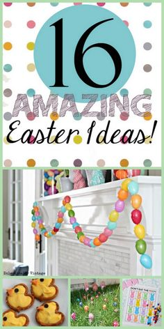 Love these Easter Ideas! I need to get thinking about Easter. It will be here before we know it!