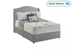 We have a huge selection of beds, in a choice of styles and sizes from famous brands. Choose from ottomans, divans or statement bed frames. King Size Divan Bed, Wooden King Size Bed, Divan Sets, Furniture Village, Design Your Bedroom, Ottoman Bed, Comfort Mattress, Bed Frame, Space Saving