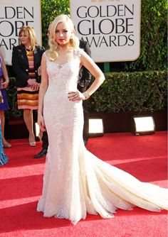 Francesca Eastwood, at the 2013 Golden Globes. Amazing, love this one.