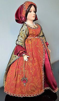 Rare,limited #edition, anne boleyn fine bisc porcelain #doll,by #cotswold mint .,  View more on the LINK: http://www.zeppy.io/product/gb/2/291656887675/