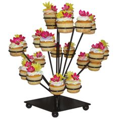 You can't ask for a better cupcake display stand!