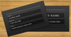 20+ Attractive Photography Business Cards to Fascinate You