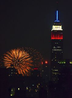 FIREWORKS~ NEW YORK CITY