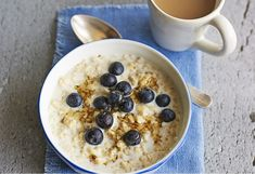 Put this oaty breakfast into your slow cooker before bed and wake up to a bowl of creamy comfort in the morning. Add your favourite toppings.