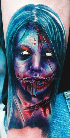 ~Skull & Horror tattoo~
