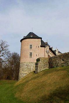 Gaasbeek Castle, #Belgium #castle #beautifulplaces