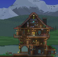 Terraria House Ideas Just To Share It Hope You Enjoy