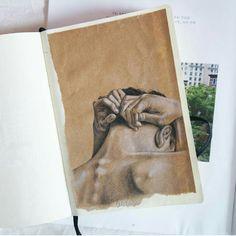 #sketchbook#drawing#body#aesthetic