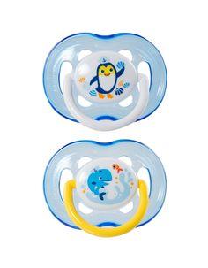 A chupeta 18m+ da Philips Avent é adequada para o desenvolvimento e para a mudança nas necessidades de conforto da criança. A tetina resistente a dentadas