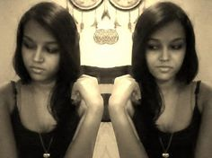 #Twins haha but not really, its just a neat trick lol #loveit #selfie #me #edited