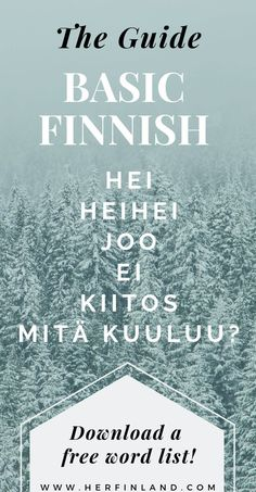 Quick Guide to Finnish Language Basics Learn how to say basic Finnish phrases quick and easy! Finland Destinations, Travel Destinations, Finland Facts, Best Of Ireland, Galway Ireland, Cork Ireland, Finland Culture, Learn Finnish, Finnish Words