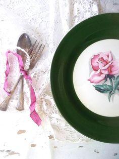 Homer Laughlin China Dinner Plates. Eggshell by ShabbyPeonie, $45.00