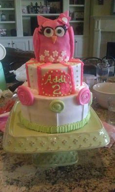 Addi's 2nd Birthday cake