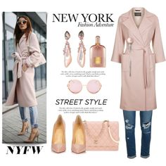 How To Wear New York Fashion Adventure Outfit Idea 2017 - Fashion Trends Ready To Wear For Plus Size, Curvy Women Over 20, 30, 40, 50