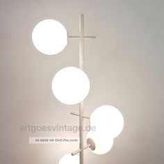 Stehlampe, Lampe, Max Bill, Design, Bauhaus, Temde, 70er, Panton Ära 1970-1979 Bild Max Bill, Bauhaus, Pantone, Lighting Design, Place Card Holders, Floor Lamp, Light Design