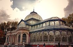 Palacio de Cristal, Parque Retiro, Madrid