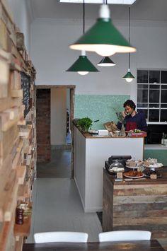 Slowpoke Cafe in Melbourne by French designer Sasufi