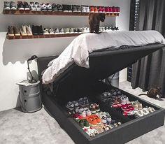 Sneaker Storage Goals #ModernNotoriety @ethan_kostromin