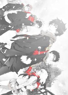 Renzo Shima, Ryuji Suguro, Konekomaru Miwa, Rin Okumura, Yukio Okumura, Shiemi Moriyama & Izumo Kamiki | Ao no Exorcist | Anime & Manga